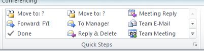 OutlookQuickSteps